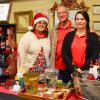 Lisse, Lyle & Kate at Holiday on 1st Street in Hughes Springs, Texas ~ December 2015
